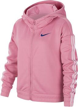 Nike g nk hoodie fz studio lány kapucnis felső rózsaszín