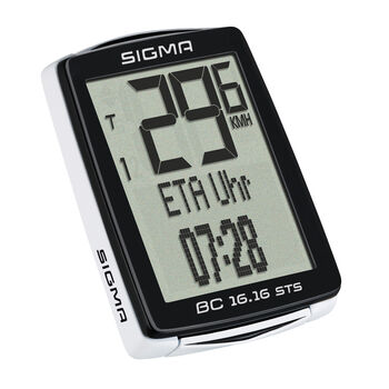 SIGMA BC 16.16 STS kerékpáros computer fekete