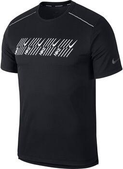 Nike DF Miler Tech SS Capsu férfi futópóló Férfiak fekete