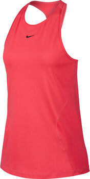 Nike W Pro Tank All Over Mesh női top Nők narancssárga