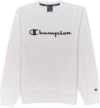 Champion Crewneck Sweat Férfiak fehér