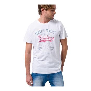 Roadsign Australian Cactus férfi póló Férfiak fehér