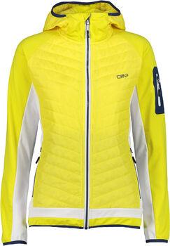 CMP Novara női fleece kabát Nők sárga