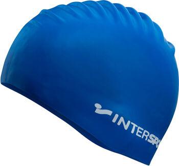 TECNOPRO úszósapka Intersport felirattal kék
