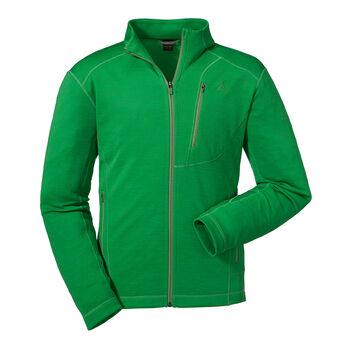 SCHÖFFEL Monaco férfi cipzáras fleece felső Férfiak zöld