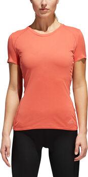 adidas FR SN SS TEE W női futópóló Nők piros