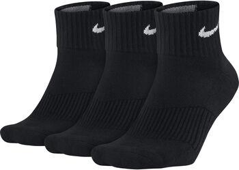 Nike Training Quarter sportzokni (3pár) fekete
