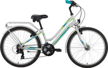 """GENESIS Zeta City 24"""" lány kerékpár fehér"""
