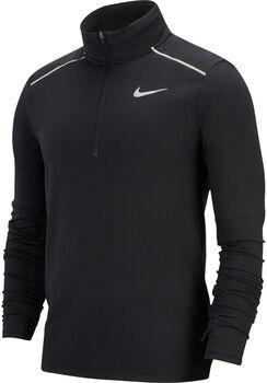 Nike Element 3.0 HZ férfi hosszú ujjú futófelső Férfiak fekete
