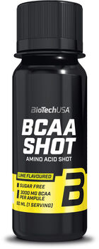 BioTech USA BCAA Shot 60ml sárga
