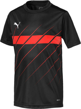 Puma  ftblPLAY Graphic Shirtgyerek trikó fekete