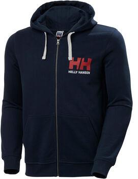 Helly Hansen HH Logo Full Zip férfi kapucnis felső Férfiak kék