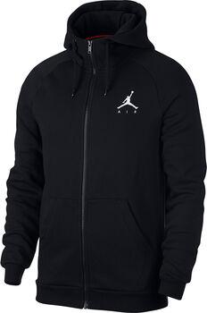 Nike Jumpman Fleece FZ férfi kapucnis felső Férfiak fekete