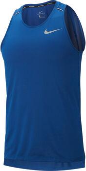 Nike Dri-FIT Miler férfi ujjatlan futófelső Férfiak kék
