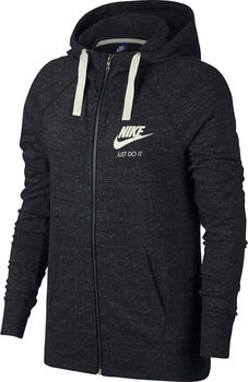 Nike Sportswear Gym Vintage Full-Zip Hoodie Nők fekete