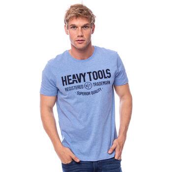 Heavy Tools Molin férfi póló Férfiak kék