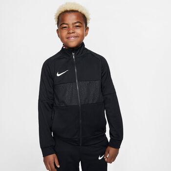 Nike Dri-FIT Soccer Track gyerek cipzáras felső Fiú fekete