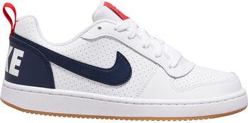 Nike Court Borough Low (GS) gyerek szabadidőcipő fehér