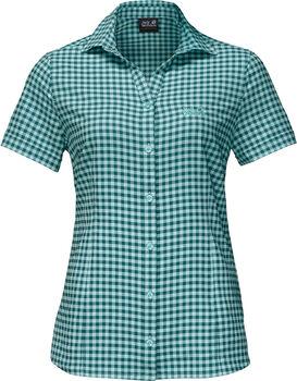 Jack Wolfskin Kepler Shirt Nők zöld