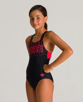 ARENA Lány-Úszóöltözet G fekete