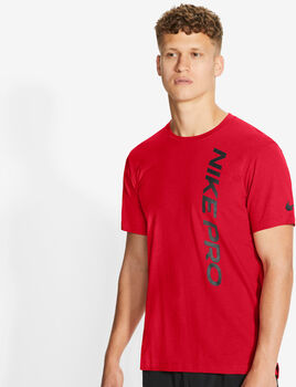 Nike Pro férfi póló Férfiak piros