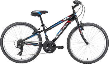 "NAKAMURA Booster 24"" MTB kerékpár fekete"