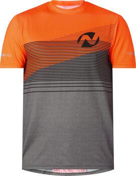 NAKAMURA  Denzelférfi kerékpáros trikó Férfiak narancssárga