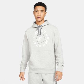 Nike Sportswear JDI férfi kapucnis felső Férfiak szürke