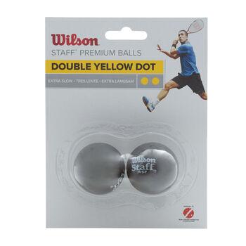 Wilson  Staff squash labda2 darabos sárga