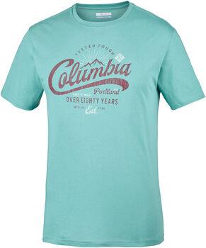 Columbia Leathan Trail Tee férfi póló Férfiak zöld