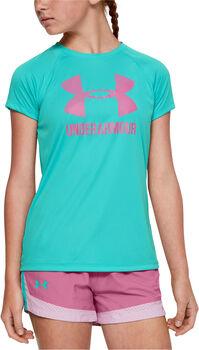 Under Armour Big Logo női póló Lány kék