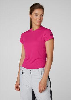 Helly Hansen Tech Crew női póló Nők rózsaszín