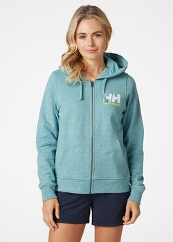 Helly Hansen HH Logo FZ női kapucnis felső Nők kék