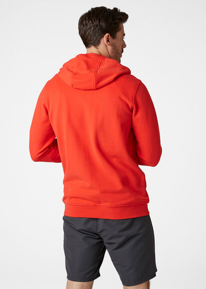 HH Logo Full Zip férfi kapucnis felső