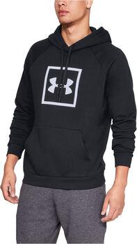 Under Armour Rival Fleece Logo férfi kapucnis felső Férfiak fekete