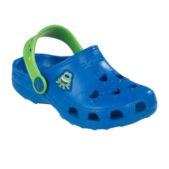 Coqui Little Frog gyerek papucs kék
