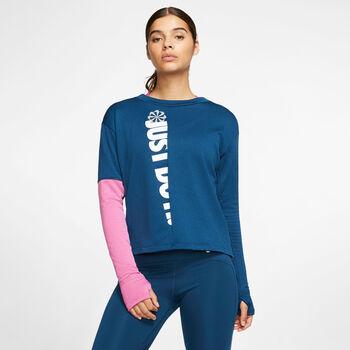 Nike Therma Sphere Icon Clash női hosszúujjú felső Nők kék