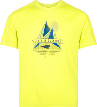 McKINLEY  Fiú-T-shirt Corajrs sárga