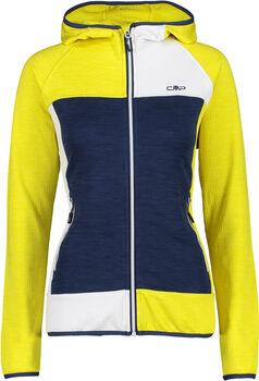 CMP Firenze női fleece kapucnis felső Nők sárga