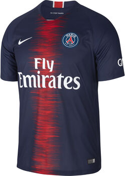 Nike Breathe Paris Saint-Germain Home felnőtt focimez Férfiak kék
