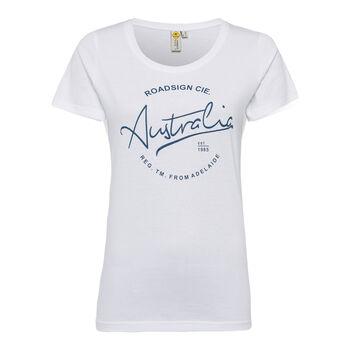 Roadsign Modern Basic női póló Nők fehér