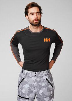Helly Hansen HH Lifa Acitve férfi hosszújjú felső Férfiak szürke