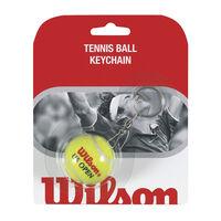 teniszlabda kulcstartó