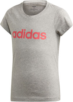 adidas E LIN lány póló szürke
