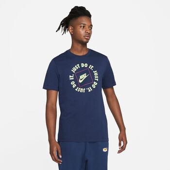 Nike  M NSW TEE JDI HBR 1férfi póló Férfiak kék