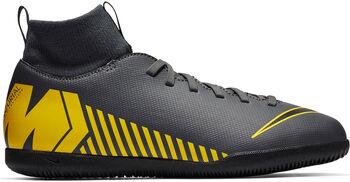 Nike Superflyx 6 Club IC Jr gyerek teremfocicipő Fiú szürke