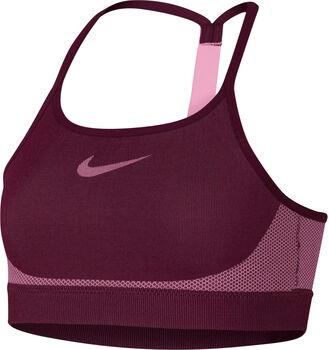 Nike Bra Seamless lány sportmelltartó piros