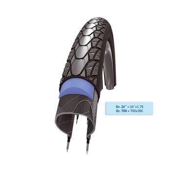 SCHWALBE Kerék BMX fekete