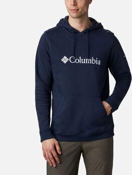 Columbia CSC Basic Logo II férfi kapucnis pulóver kék