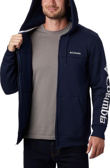 M Logo FZ Fleece férfi kapucnis felső